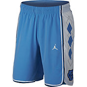 Jordan Men's North Carolina Tar Heels Carolina Blue Authentic Basketball Shorts