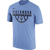 Nike Men's Villanova Wildcats Light Blue ELITE Basketball Legend T-Shirt