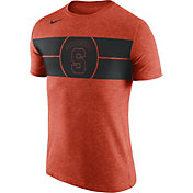 Nike Men's Syracuse Orange Logo Orange Basketball T-Shirt
