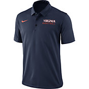 Nike Men's Blue Virginia Cavaliers Basketball Polo
