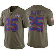 Nike Men's Home Limited Salute to Service Buffalo Bills LeSean McCoy #25 Jersey