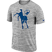Nike Men's Indianapolis Colts Legend Velocity Travel Performance Grey T-Shirt
