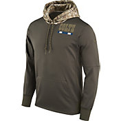Nike Men's Indianapolis Colts Salute to Service 2017 Therma-FIT Performance Hoodie