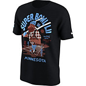 Nike Men's Super Bowl LII Paul Bunyan Black T-Shirt