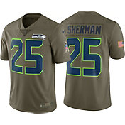 Nike Men's Home Limited Salute to Service Seattle Seahawks Richard Sherman #25 Jersey