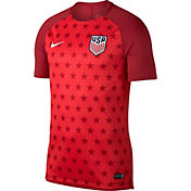 Nike Men's USA Soccer Red Training Top