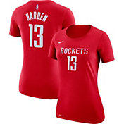 Nike Women's Houston Rockets James Harden #13 Dri-FIT Red T-Shirt