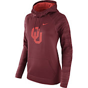 Nike Women's Oklahoma Sooners Crimson All Time Therma-FIT Hoodie