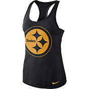 Nike Women's Pittsburgh Steelers Dri-FIT Performance Black Tank Top