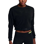 Nike Women's Cropped Training Long Sleeve Shirt