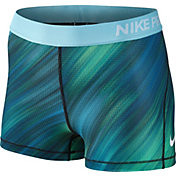 Nike Women's 3'' Pro Cool Light Streak Printed Shorts