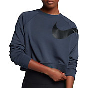 Nike Women's Dry Versa Long Sleeve Cropped Shirt