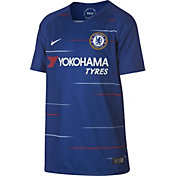 Nike Youth Chelsea 2018 Breathe Stadium Home Replica Jersey