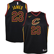 Nike Youth Cleveland Cavaliers LeBron James #23 Black Statement Dri-FIT Swingman Jersey