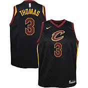 Nike Youth Cleveland Cavaliers Isaiah Thomas #3 Black Statement Dri-FIT Swingman Jersey