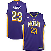 Nike Youth New Orleans Pelicans Anthony Davis Dri-FIT City Edition Swingman Jersey