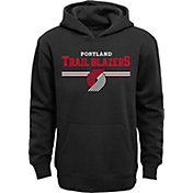 Outerstuff Youth Portland Trail Blazers Black Pullover Hoodie