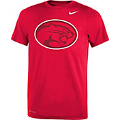 Nike Youth Houston Cougars Red Travel Football Legend T-Shirt