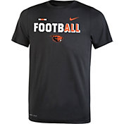 Nike Youth Oregon State Beavers FootbALL Sideline Legend Black T-Shirt