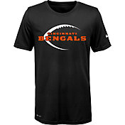 Nike Youth Cincinnati Bengals Legend Icon Performance Black T-Shirt