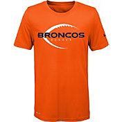 Nike Youth Denver Broncos Legend Icon Performance Orange T-Shirt
