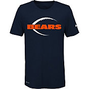 Nike Youth Chicago Bears Legend Icon Performance Navy T-Shirt