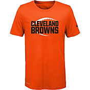 Nike Youth Cleveland Browns Legend Icon Performance Orange T-Shirt
