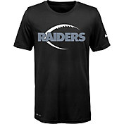 Nike Youth Oakland Raiders Legend Icon Performance Black T-Shirt