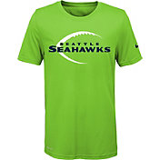 Nike Youth Seattle Seahawks Legend Icon Performance Green T-Shirt