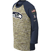 Nike Youth Seattle Seahawks Salute to Service 2017 Raglan
