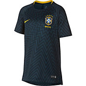 Nike Youth 2018 FIFA World Cup Brazil Navy Training Top