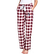 Concepts Sport Women's Houston Texans Forge Fleece Flannel Pants