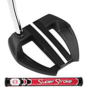 Odyssey O-Works Black Marxman Putter – SuperStroke Mid Slim 2.0 Grip