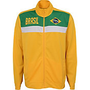Outerstuff Men's Brazil Yellow Track Jacket