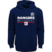 NHL Youth 2018 Winter Classic New York Rangers Locker Room Navy Pullover Hoodie