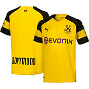 PUMA Youth Borussia Dortmund 2018 Replica Home Stadium Jersey