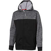 Reebok Boys' Performance Fleece Full Zip Hoodie