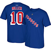 Reebok Men's New York Rangers J. T. Miller #10 Player Royal T-Shirt