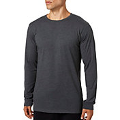 Reebok Men's Heather Jersey Long Sleeve Shirt