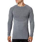 Reebok Men's Seamless Crewneck Long Sleeve Shirt