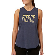 Reebok Women's Drop Armhole Heather Graphic Tank Top