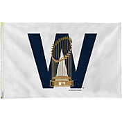 Rico Chicago Cubs W Trophy Banner Flag