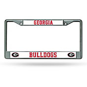Rico Georgia Bulldogs Chrome License Frame
