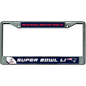 Rico Super Bowl LI New England Patriots License Plate Frame