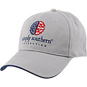 Simply Southern Women's Dots & Stripes Americana Flex Fit Hat