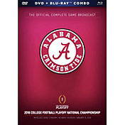 2018 College Football National Championship Game DVD & Blu-Ray Combo