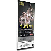 That's My Ticket 2017 NBA Finals Champions Golden State Warriors Small Mega Ticket