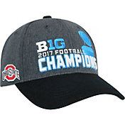 Top of the World Men's 2017 Big Ten Football Champions Ohio State Buckeyes Locker Room Snapback Hat