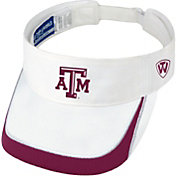 Top of the World Men's Texas A&M Aggies White Teed Off Visor