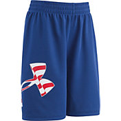 Under Armour Little Boys' Big Logo Americana Striker Shorts